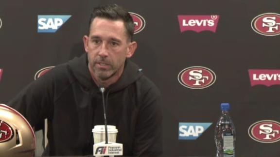 Shanahan gives epic answer to question about Jimmy G's status as 49ers' QB