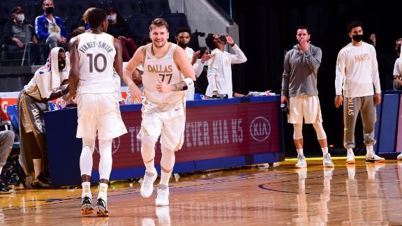 Mavs go on 28-0 scoring run in 1st half vs. Warriors