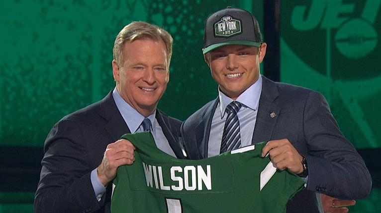 Zach Wilson heads to Jets as No. 2 overall pick