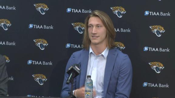 Trevor Lawrence not planning to change who he is in Jacksonville