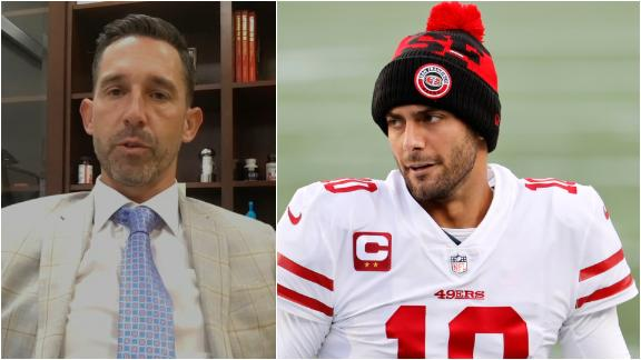 Shanahan: It will be hard for Trey Lance to beat out Jimmy Garoppolo