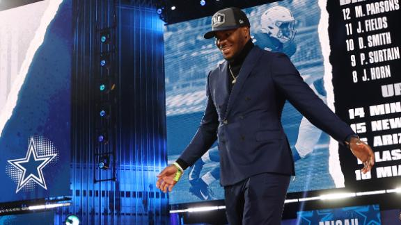 Were the Cowboys reaching with their Day 2 draft picks?