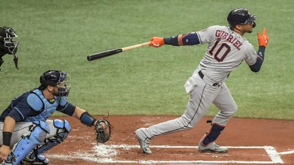 Astros' small ball in first inning pays off for win