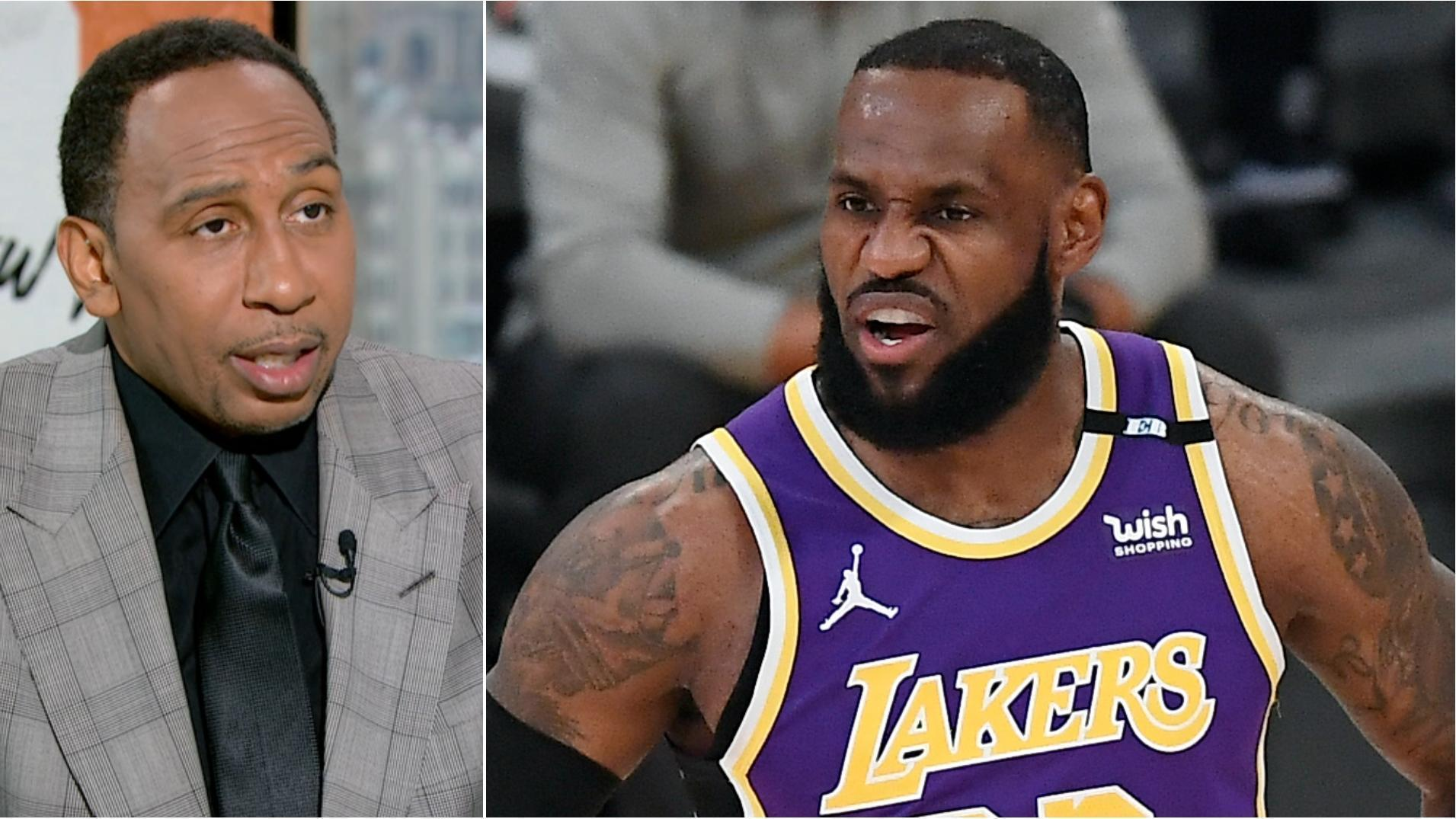 Stephen A.: LeBron should be upset with his teammates over potential play-in game
