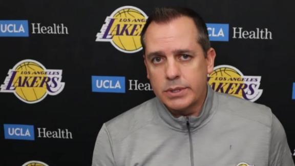 Vogel explains why LeBron was pulled early vs. Raptors