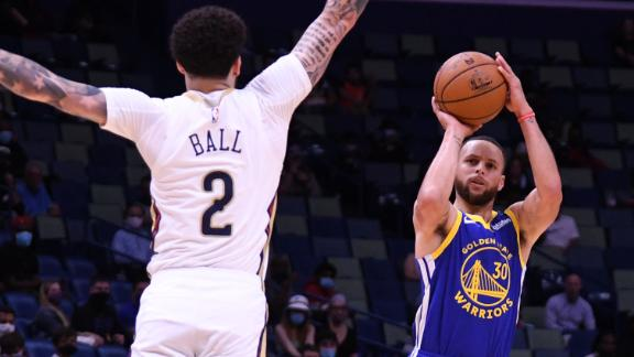 These Curry back-to-back 3s are inevitable