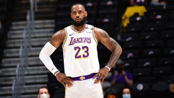 Woj: Lakers to sit LeBron for 2 more games