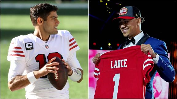 Garoppolo ready to do whatever he can to help Lance