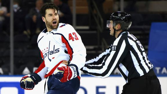 Why did the NHL decide not to suspend Tom Wilson?