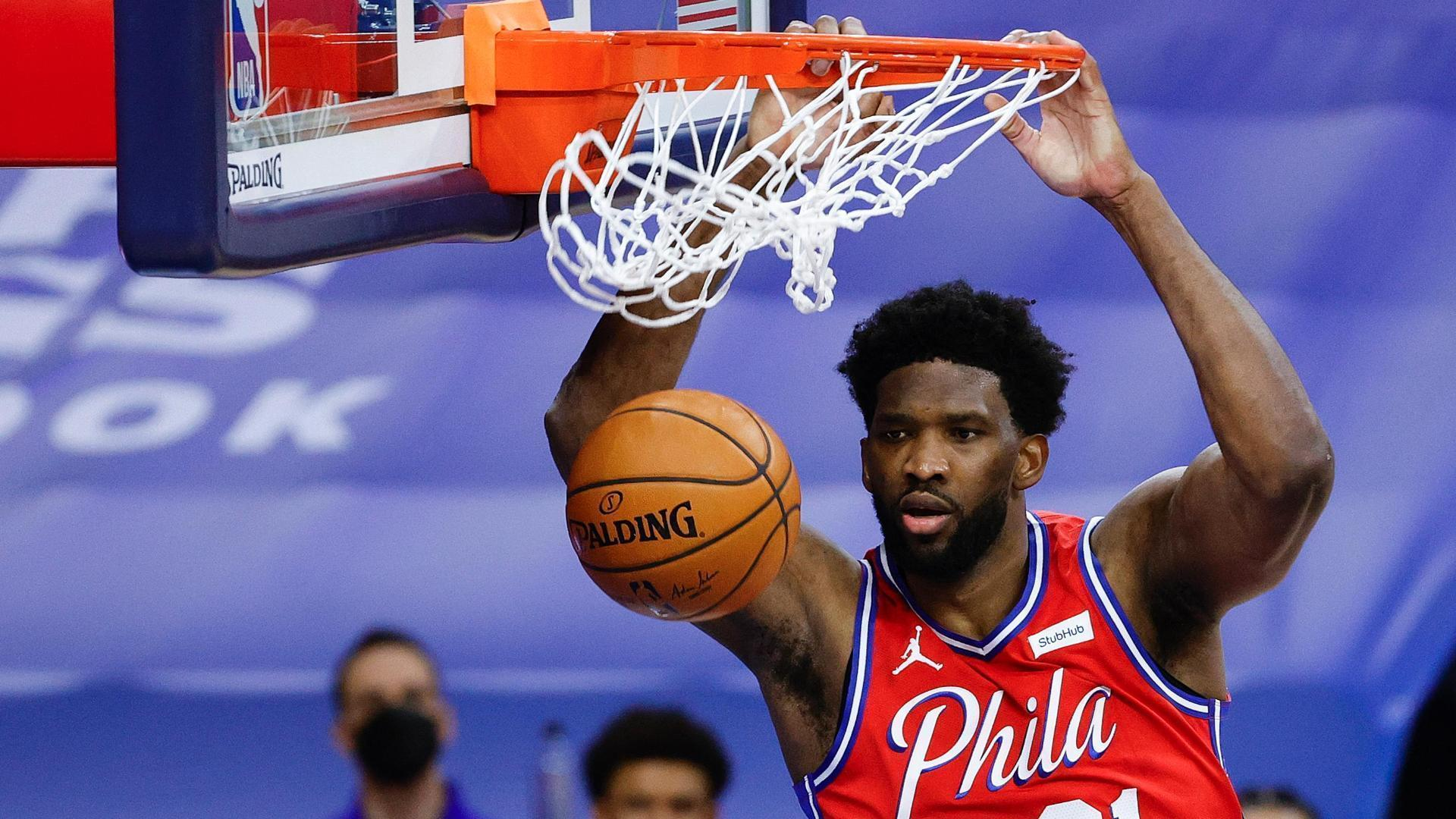 The highlights that put Joel Embiid's greatness on display