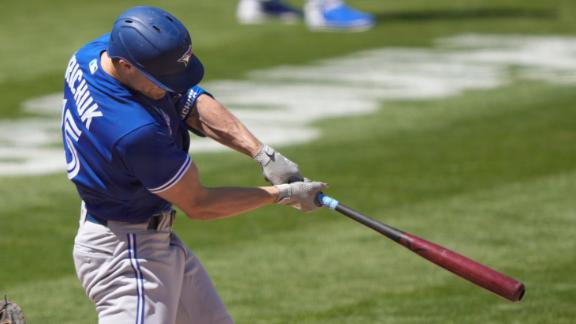 Blue Jays tack on two runs with Grichuk's double