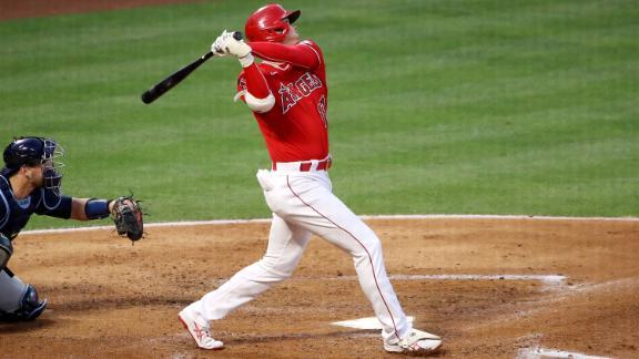 Ohtani blasts league-leading 10th homer