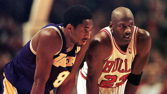 The best of Kobe vs. Michael Jordan on the court