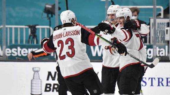 Kessel, Bunting third-period goals lead Coyotes to win