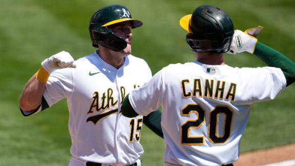 Seth Brown stays hot with HR in second straight game