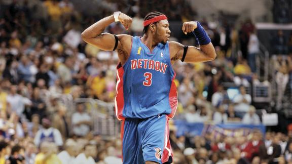 Ben Wallace did it all in his storied NBA career