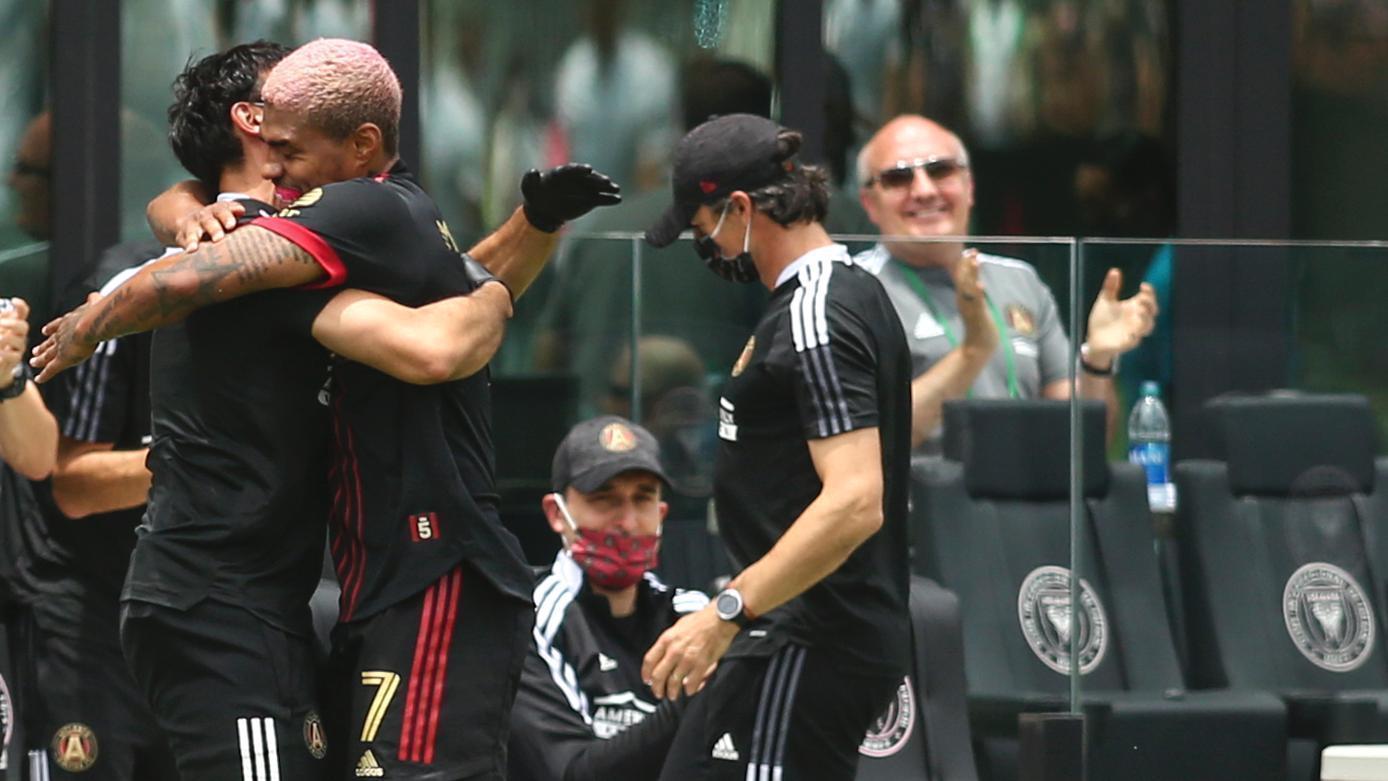 Josef Martinez scores 1st MLS goal since 2019