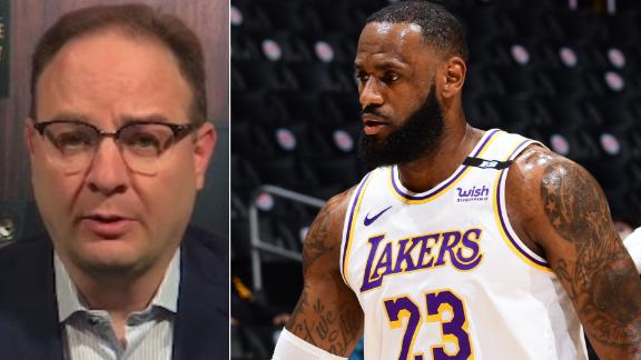 Will LeBron play in Lakers' next game vs. Knicks?
