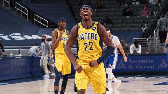 LeVert nails dagger 3 to complete Pacers' comeback