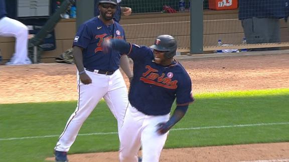 Sano blasts game-winning HR for Twins