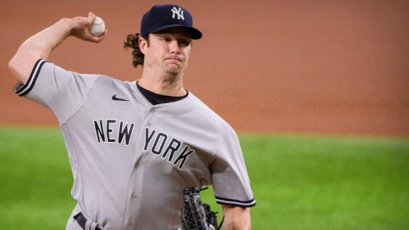 Cole makes MLB history with 59 straight K's without a walk