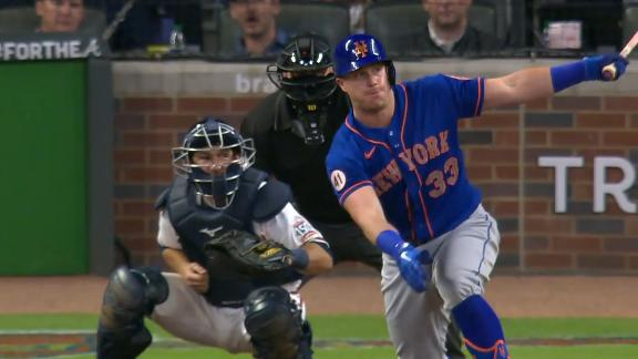 McCann breaks the ice with RBI double for Mets