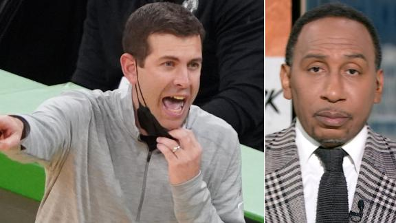 Should Brad Stevens be on the hot seat? Stephen A. chimes in