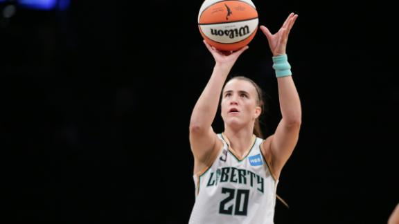 Ionescu records 1st triple-double in Liberty's team history