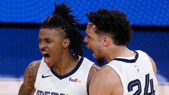 Morant's 35-point performance leads Grizzlies to 8-seed with OT win over Warriors
