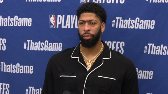 AD takes 'full responsibility' for Lakers' Game 1 loss