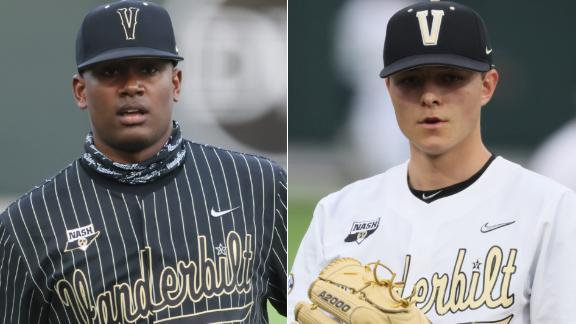 Meet Vanderbilt's dynamic 1-2 punch: Kumar Rocker and Jack Leiter