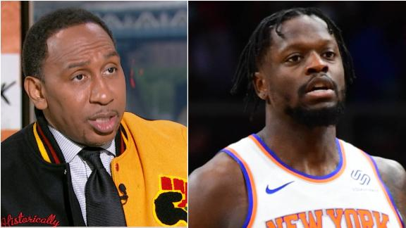 Stephen A.: Julius Randle has been horrible in the playoffs for the Knicks