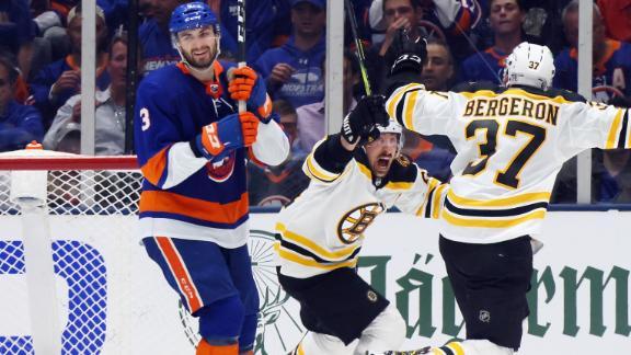 Marchand's OT beauty swings series in favor of Bruins