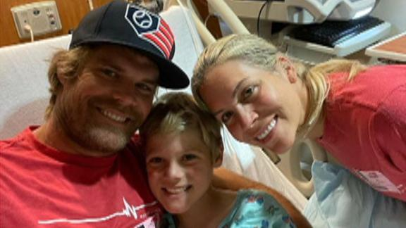 Heart donor found for Greg Olsen's 8-year-old son