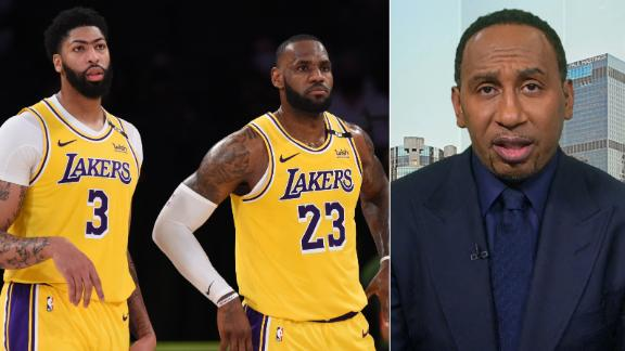 Stephen A. doesn't think LeBron's Lakers will win another title