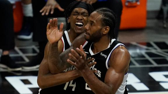 Kawhi, Clippers eliminate Mavs in Game 7 to advance