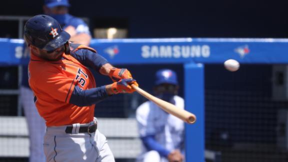 Altuve, McCormick homer as Astros top Blue Jays