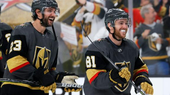 Golden Knights even series with Avs behind Marchessault's hat trick