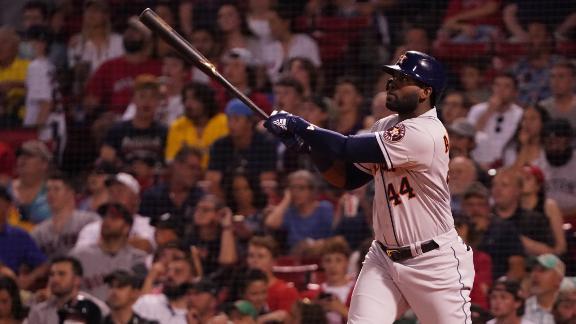 Yordan Alvarez unloads on 451-foot HR in Astros' win