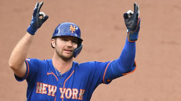 Alonso heats up with third homer in two games