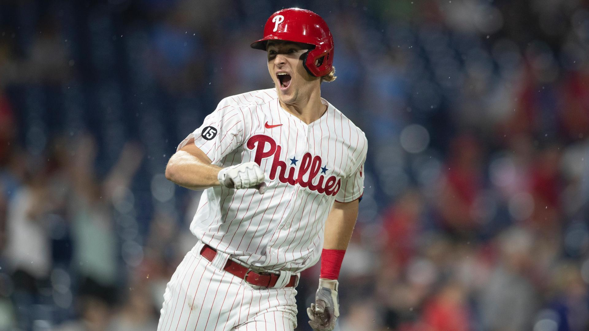 Luke Williams' first career HR is a walk-off for the Phillies
