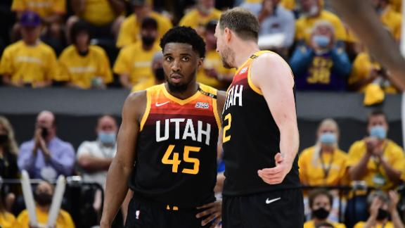 Mitchell goes off for 45 points in Jazz's Game 1 win vs. Clippers