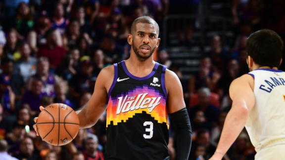 CP3's 15 assists with 0 turnovers lifts Suns to 2-0 series lead