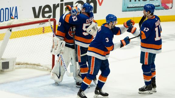 Islanders dominate Bruins in Game 6, advance to Stanley Cup Semifinals