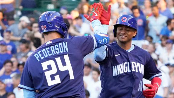 Cubs go deep 3 times in win over Cardinals