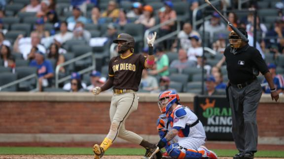 Tatis mashes a grand slam to power Padres over Mets