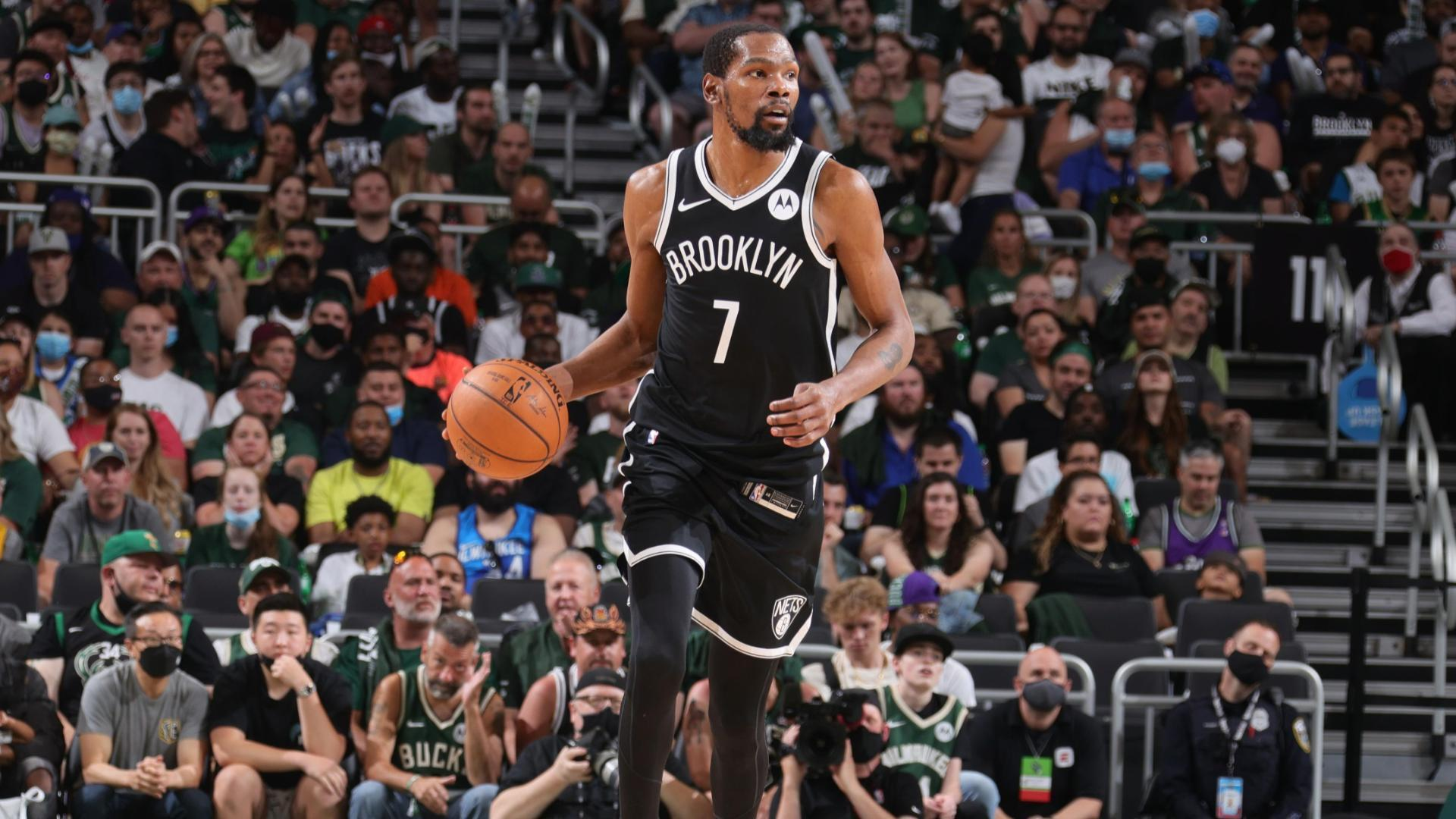 Can Durant lead Nets to win vs. Bucks without Irving or Harden?