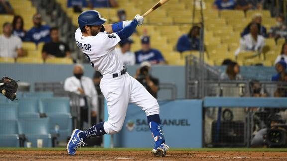 Will Smith, Chris Taylor spark Dodgers' offense