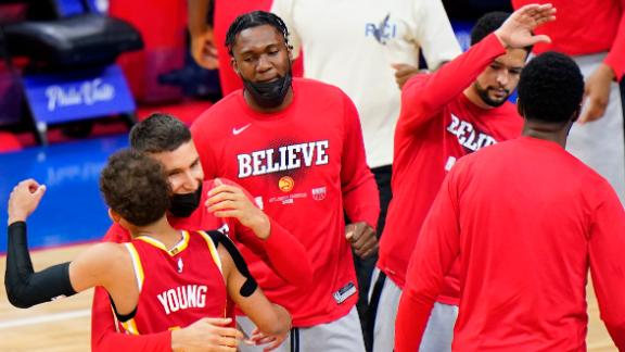 Hawks mount monumental comeback to take 3-2 series lead over 76ers