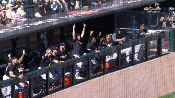 White Sox walk it off in extras